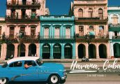 ลุยเดี่ยวเที่ยว Havana ตอนที่ 2 : นั่งรถวินเทจเปิดประทุน เที่ยว Modern Havana