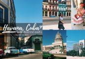 ไปย้อนยุคแบบชิคๆที่ Havana, Cuba กันเถอะ เราไปคนเดียวมาแล้ว [ตอนที่ 1]