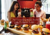 [รีวิว] 25 Degrees Burger @ Pullman Hotel G มาลอง The Loooong Board กับเบอร์เกอร์ซิกเนเจอร์ 7 ชิ้นบน...