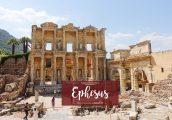 [เที่ยวตุรกีด้วยตัวเอง ตอนที่ 5] : Ephesus เมืองกรีกโบราณ ที่อยู่ของหนึ่งในเจ็ดสิ่งมหัศจรรย์ของโลก