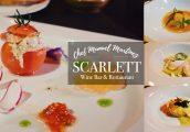 [รีวิว] ค่ำคืนสุดพิเศษใน Scarlett Wine Bar & Restaurant กับเชฟมิชลินสองดาว Manuel Martinez