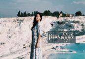 [เที่ยวตุรกีด้วยตัวเอง ตอนที่ 4] : Pamukkale-Hierapolis เมืองโบราณและบ่อน้ำแร่ที่ธรรมชาติสร้างได้เหม...