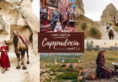 [เที่ยวตุรกีด้วยตัวเอง ตอนที่ 2.2] : Cappadocia ขี่อูฐ วิวบอลลูน ขับรถเที่ยวในดินแดนเหนือจินตนาการ