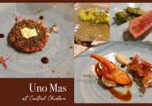 [รีวิว] Uno Mas at Central Chidlom ดินเนอร์อาหารสเปน 6 คอร์สเสิร์ฟพร้อม Gin Pairing