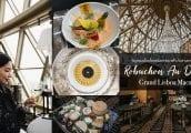 [รีวิว] Robuchon au Dôme ห้องอาหารบนโดมที่สูงที่สุดในมาเก๊า กับรางวัล 3 ดาวมิชลิน