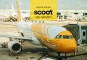 [รีวิว] SCOOT สายการบินโลว์คอสท์จากสิงคโปร์ ที่มีเที่ยวบินจากทั้งดอนเมืองและสุวรรณภูมิ