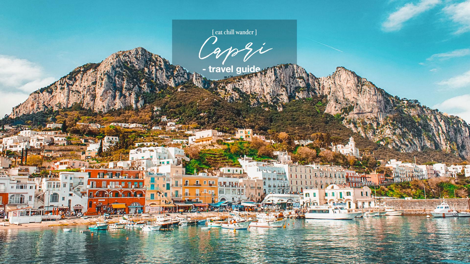 ลุยเดี่ยวเที่ยว Capri เกาะสวรรค์ของเซเลบริตี้ตัวแม่ ใน ...
