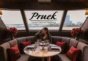 [รีวิว] Pruek Cruise ดินเนอร์ล่องเรือบนแม่น้ำเจ้าพระยาที่หรูหราที่สุดในขณะนี้