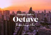 [รีวิว] Octave Rooftop Lounge & Bar รูฟท็อปวิวสวย 360 องศา ย่านทองหล่อ